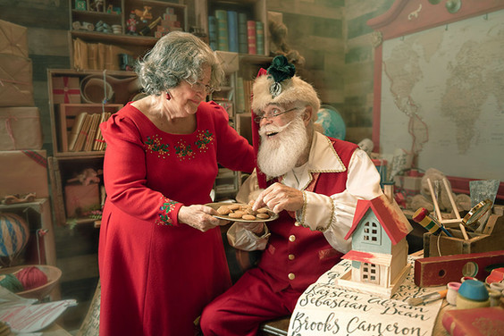Don't Tell the Elves I Sneaked One of Their Cookies!