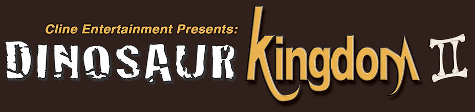 Dinosaur Kingdom II logo title