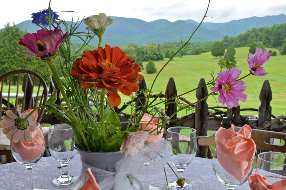 Blue Ridge Vineyard tables