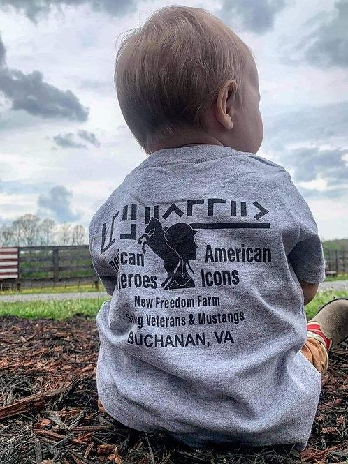American Heroes & Icons Kid's Short Sleeve T-shirt