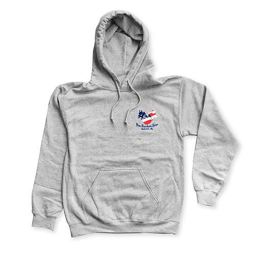 New Freedom Farm Pull-Over Hoodie - Gray