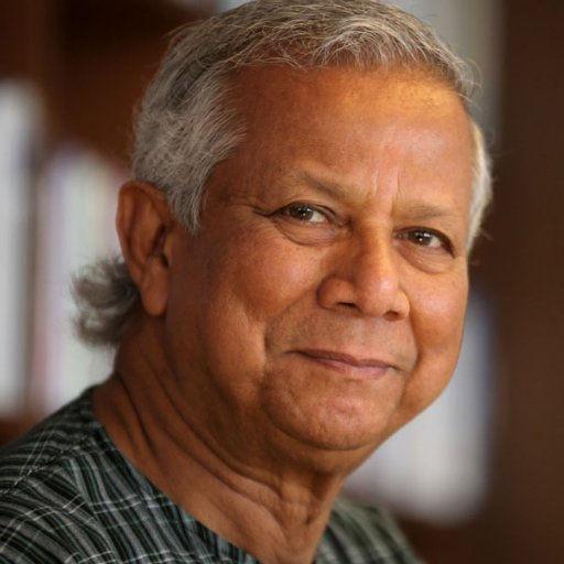 ノーベル平和賞受賞のユヌス博士