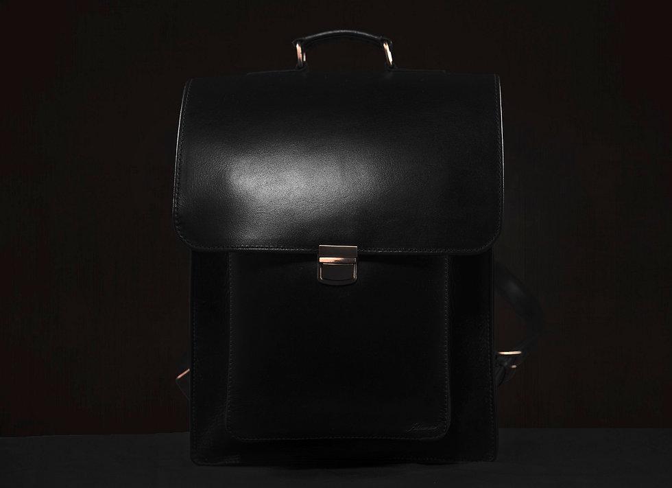 ビジネスバックパック:モデルⅠ、カラー:黒