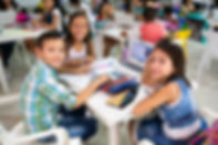 Girls and boy homework table Aero GREAT
