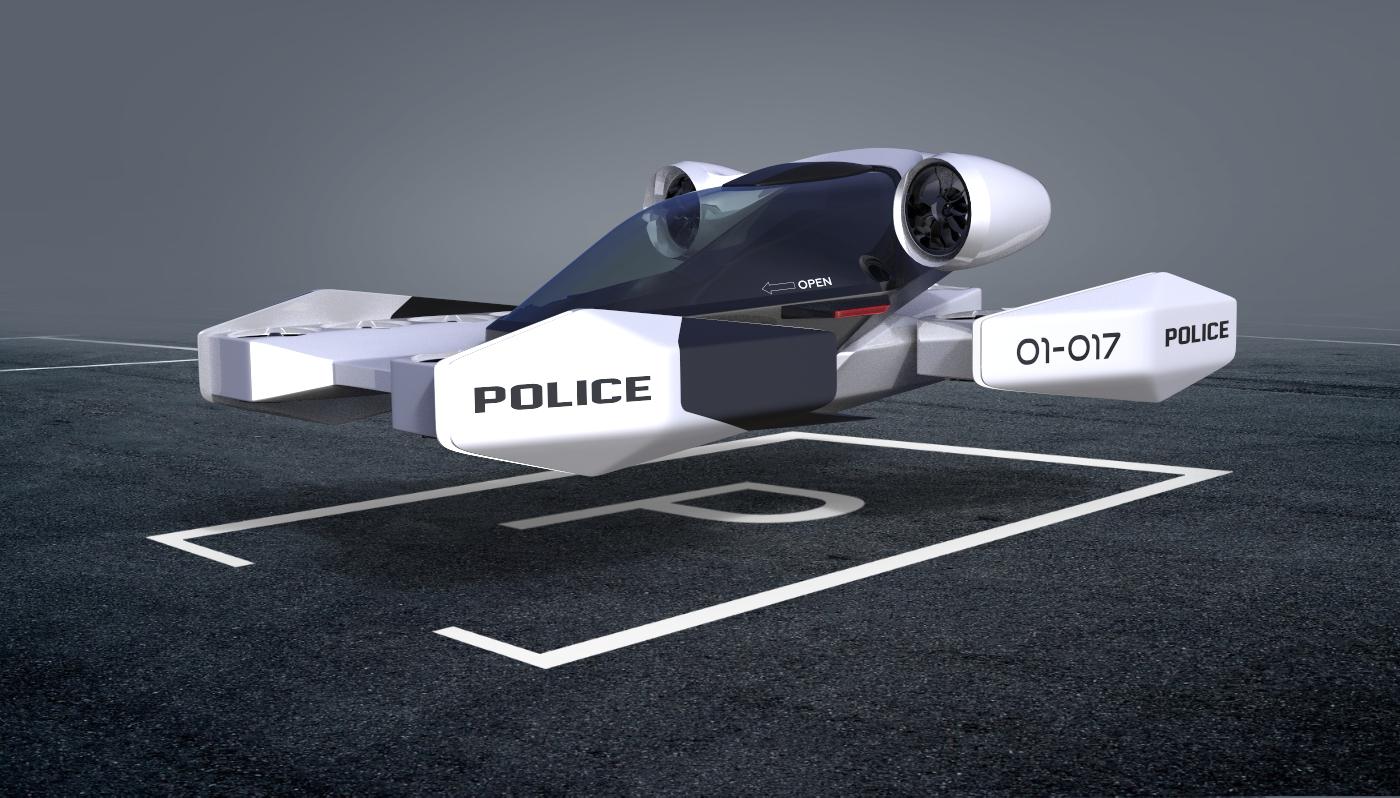 Police eVTOL