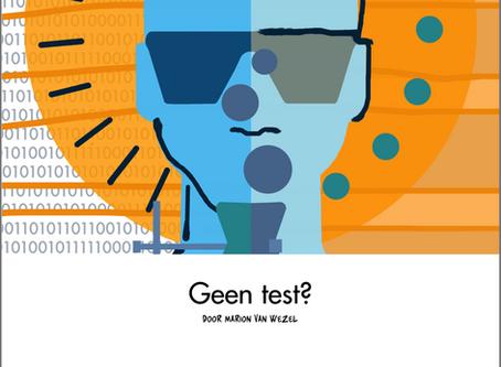 Geen test?
