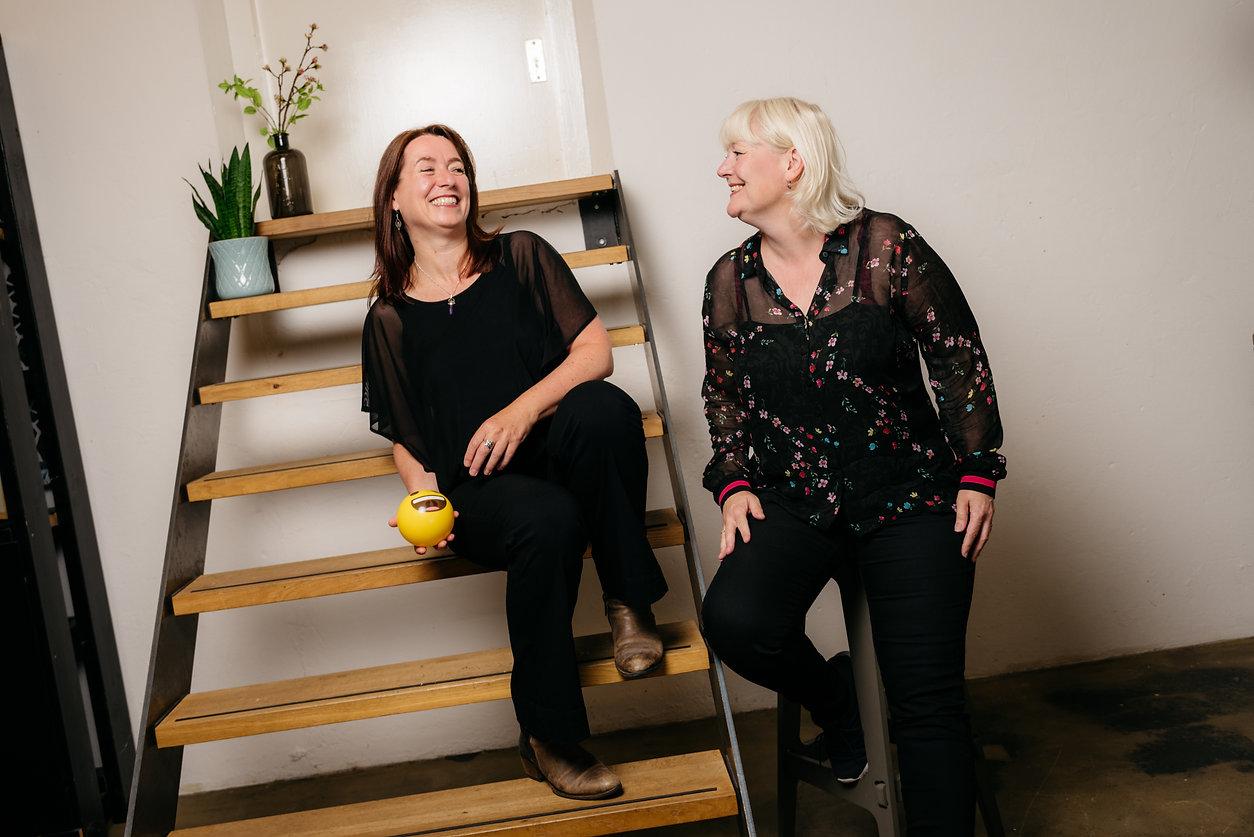 De kracht van de verschillen Ingrid Klinkert en Marion van Wezel