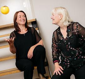 Waarom de kracht van de verschillen Synergie Samenwerking groei verandering en verbetering Ingrid Klinkert en Marion van Wezel