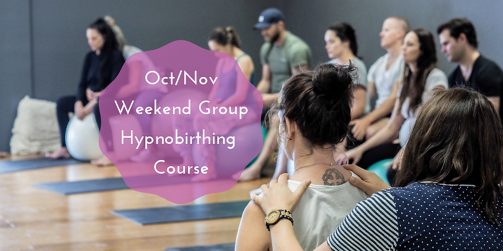 October/November Weekend Gold Coast Group Hypnobirthing Course