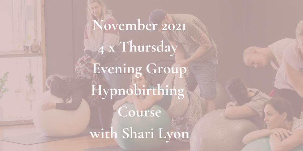 November Thursday Evening Group Course 2021