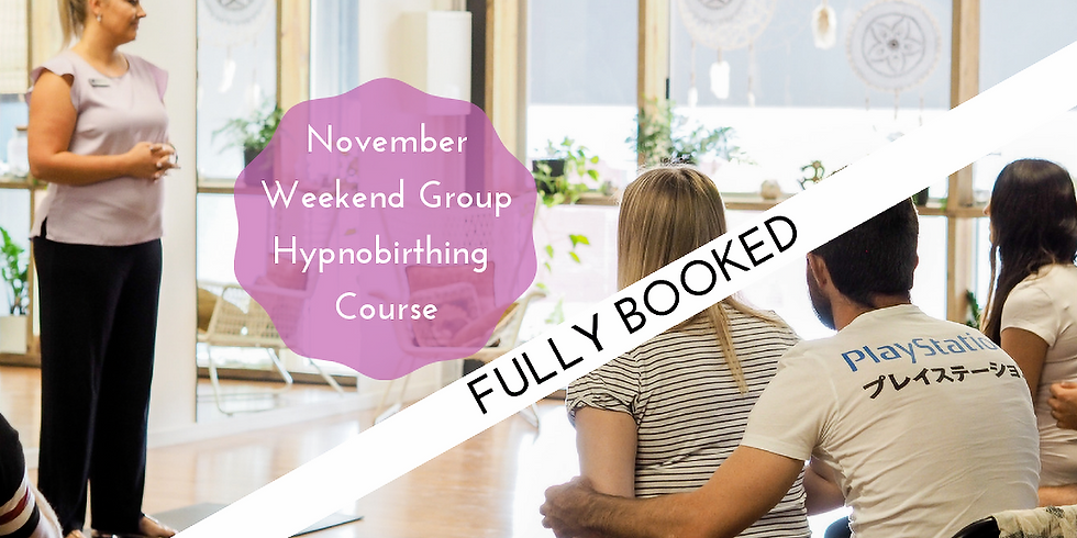 November Weekend Gold Coast Group Hypnobirthing Course