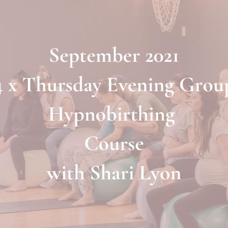 September Thursday Evening Group Course 2021