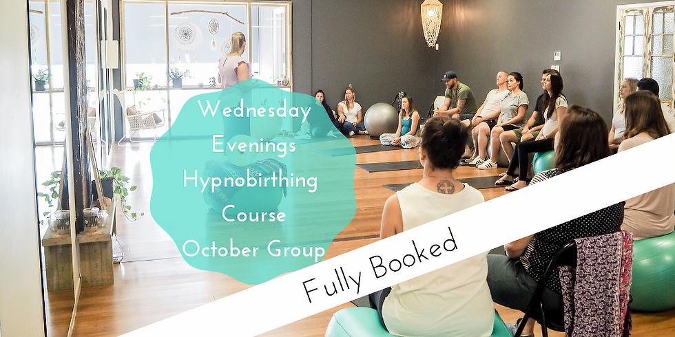 October Wednesday Evening Group Hypnobirthing Course