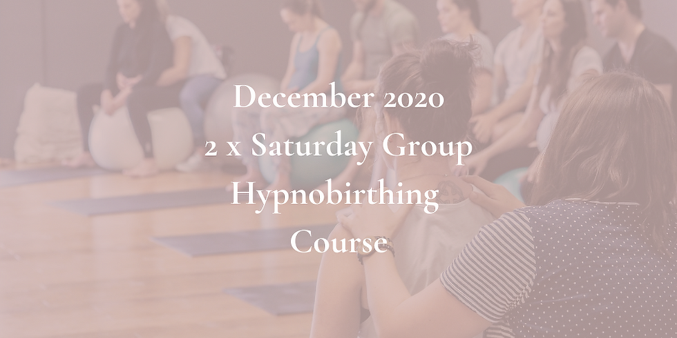 December Saturday Gold Coast Group Hypnobirthing Course