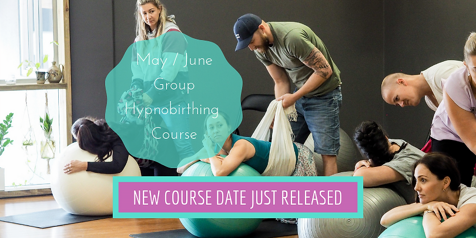 May/June Weekend Gold Coast Group Hypnobirthing Course