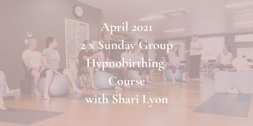 April Sunday Gold Coast Group Hypnobirthing Course 2021