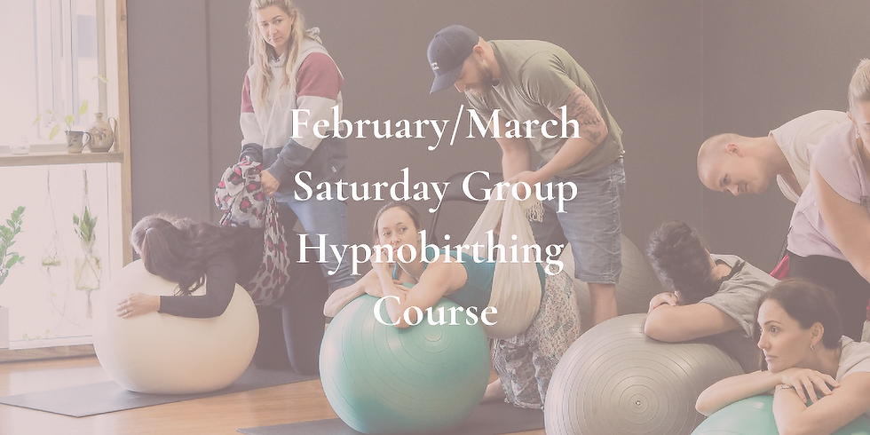 February/March Saturday Gold Coast Group Hypnobirthing Course 2021