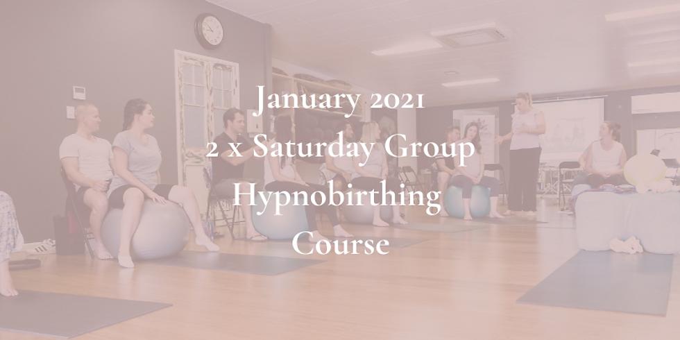 January Saturday Gold Coast Group Hypnobirthing Course