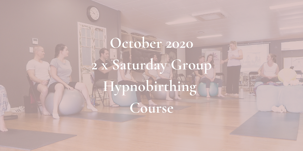 October Saturday Gold Coast Group Hypnobirthing Course