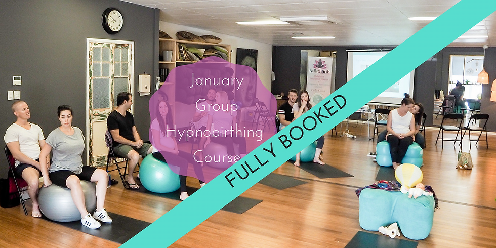 January 2019 Weekend Gold Coast Group Hypnobirthing Course