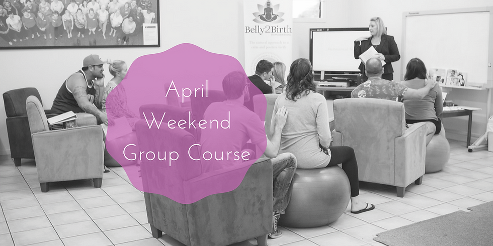 April Weekend Gold Coast Group Hypnobirthing Course