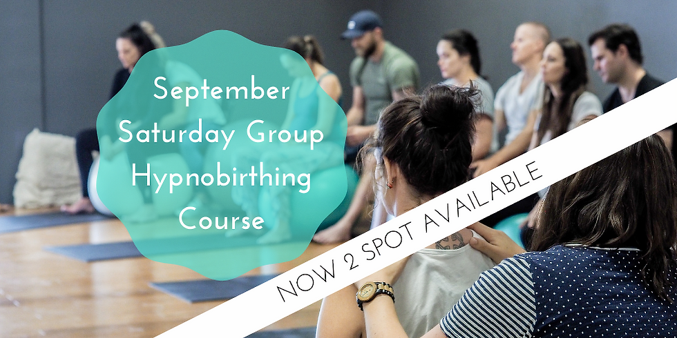 September Saturday Gold Coast Group Hypnobirthing Course