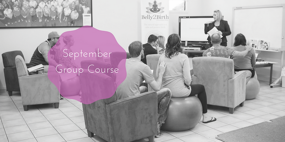 Gold Coast Group Hypnobirthing Course - September / October