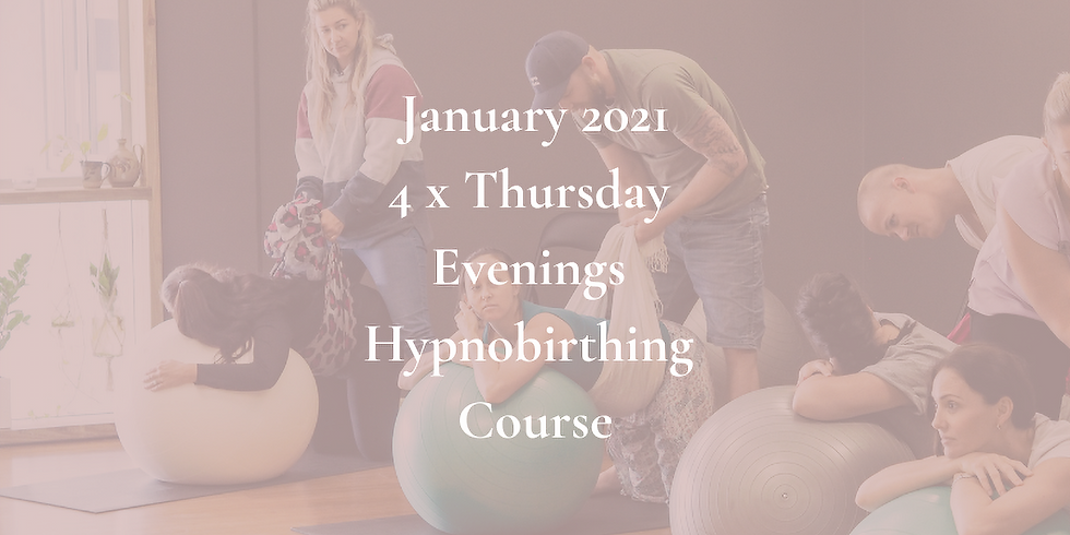 January Thursday Evening Group Hypnobirthing Course