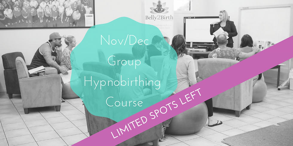 November/December Weekend Gold Coast Group Hypnobirthing Course
