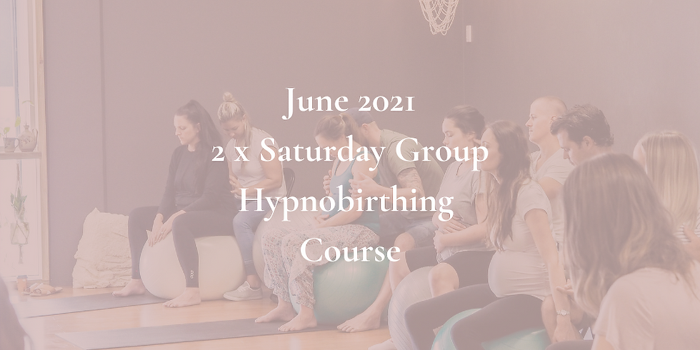 June Saturday Gold Coast Group Hypnobirthing Course 2021
