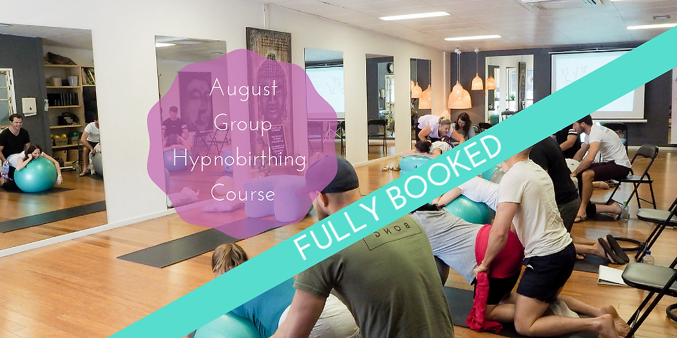 August Weekend Gold Coast Group Hypnobirthing Course