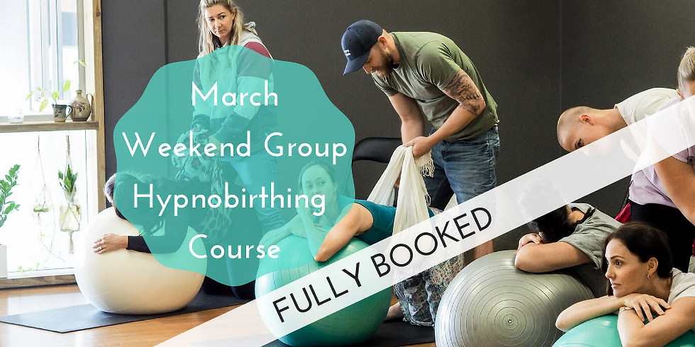 March Saturday Gold Coast Group Hypnobirthing Course