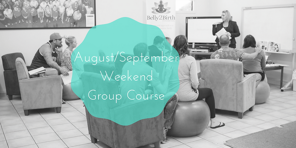 August/September Weekend Gold Coast Group Hypnobirthing Course