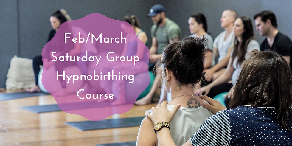 February/March Saturday Gold Coast Group Hypnobirthing Course