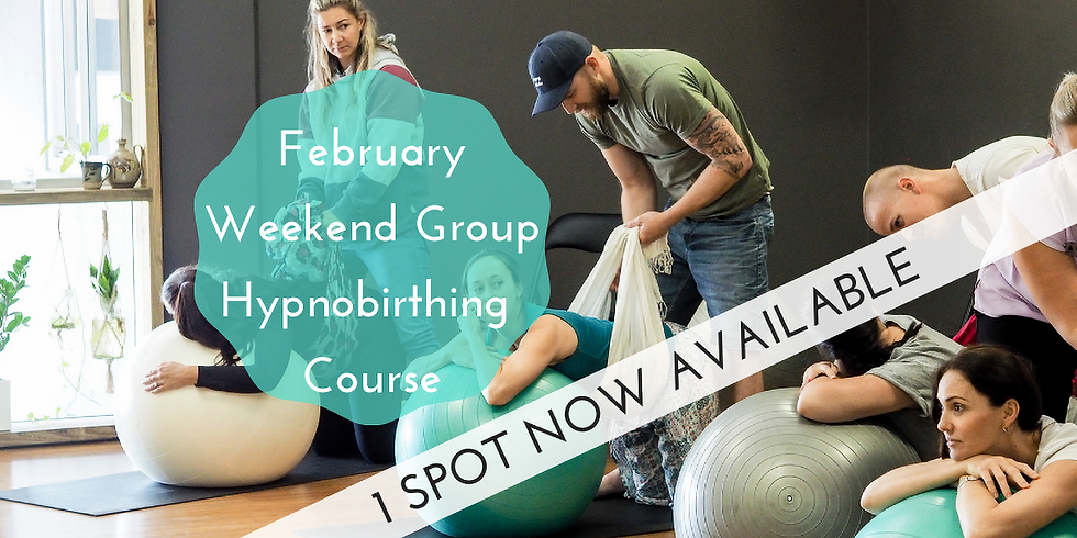 February Weekend Gold Coast Group Hypnobirthing Course