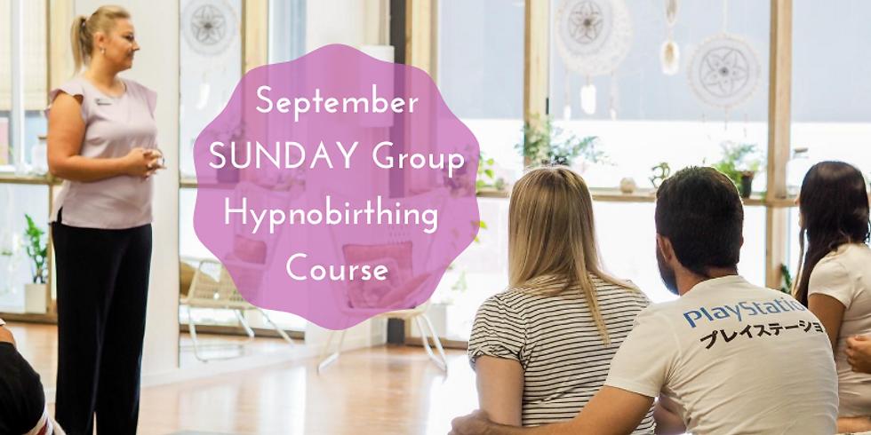 September SUNDAY Gold Coast Group Hypnobirthing Course