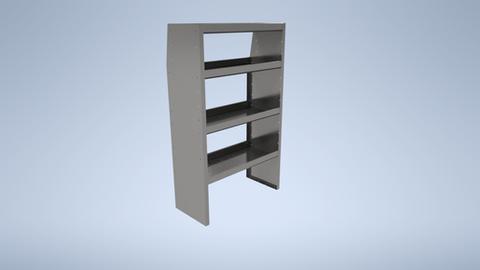 "48"" Long Shelf Unit"