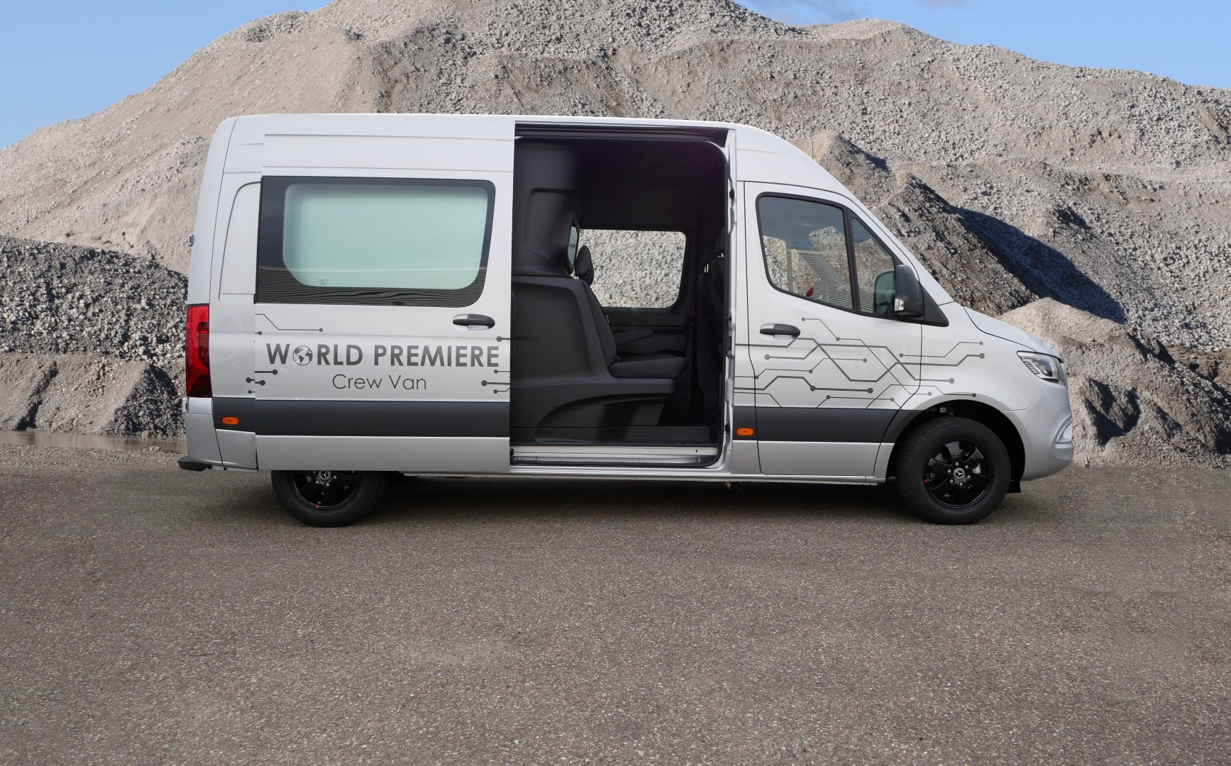 Mercedes-Benz Sprinter - sideview Comfor