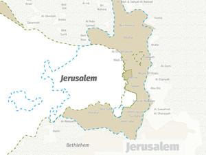Jerusalem after the Oslo Accord 1993