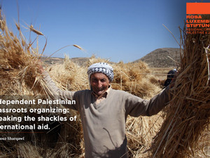 Independent Palestinian grassroots organizing: Breaking the shackles of international aid