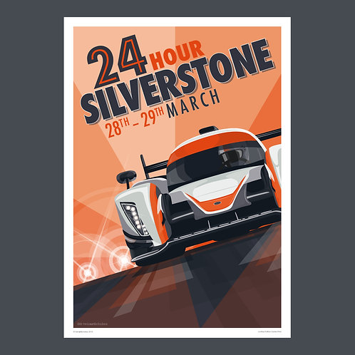 SILVERSTONE 24 - A2 POSTER