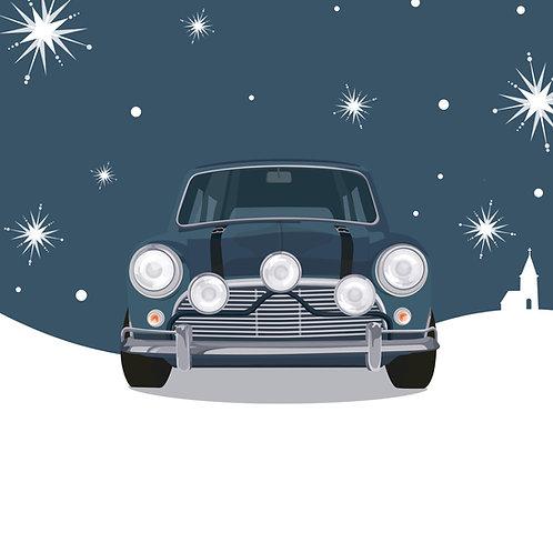 SILENT NIGHT – SINGLE CHRISTMAS CARD