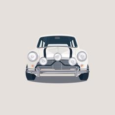 Mini White on White