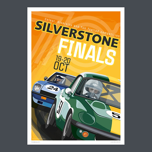 SILVERSTONE FINALS - A2 POSTER