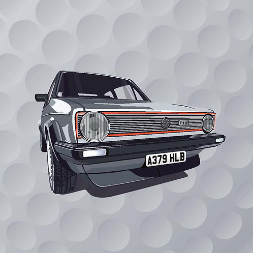 VW GOLF  GTi CAMPAIGN – SINGLE CARD