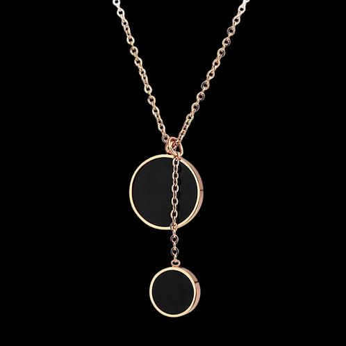 Doble Cercle Necklace