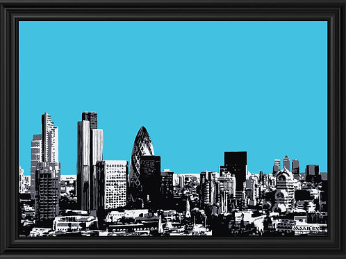 Blue London City