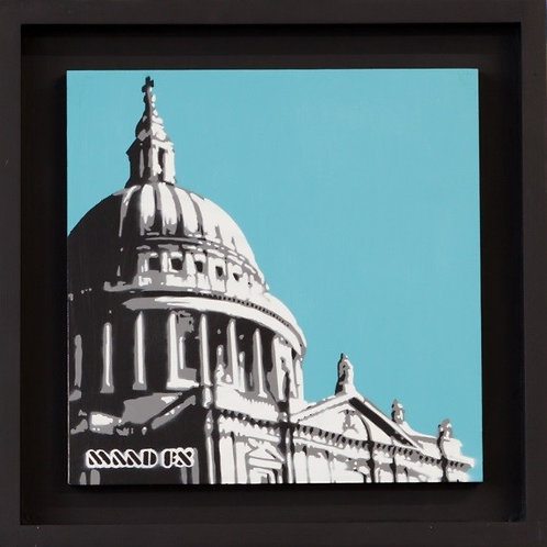 St Pauls in winter - Original Painting