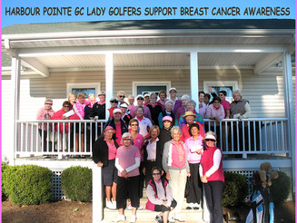 Harbour Point Lady Golfers Support Breast Cancer Awareness