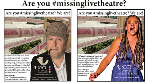 NBCT Missing Live Theatre